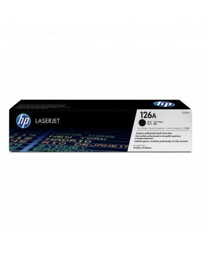 HP originál toner CE310A, black, 1200str., HP 126A, HP LaserJet Pro CP1025, 1025nw, MFP M175
