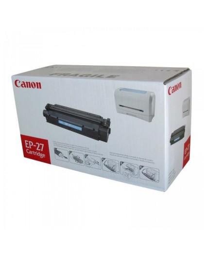 Canon originál toner EP27, black, 2500str., 8489A002, Canon LBP-3200, MF-3110, 5630, 5650