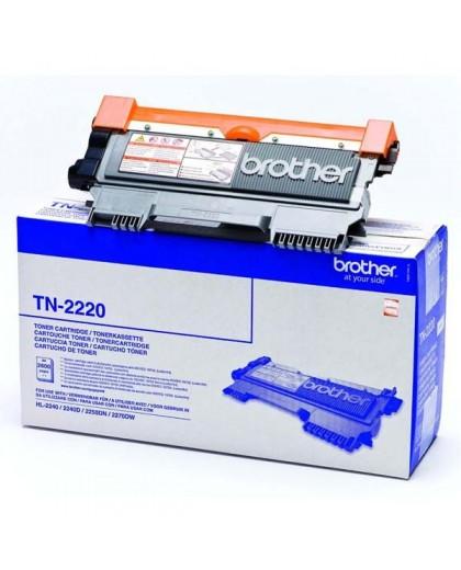 Brother originál toner TN2220, black, 2600str., Brother HL-2240D, 2250DN
