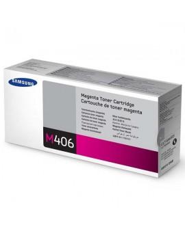 Samsung originál toner CLT-M406S, magenta, 1000str., Samsung CLP-360, 365, CLX-3300, 3305
