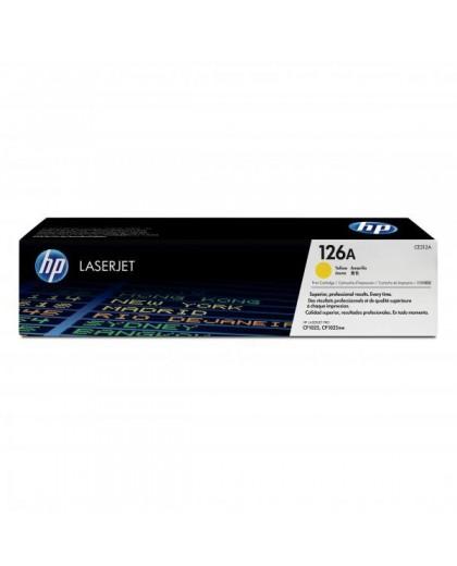 HP originál toner CE312A, yellow, 1000str., HP 126A, HP LaserJet Pro CP1025, 1025nw, MFP M175