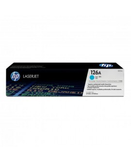 HP originál toner CE311A, cyan, 1000str., HP 126A, HP LaserJet Pro CP1025, 1025nw, MFP M175