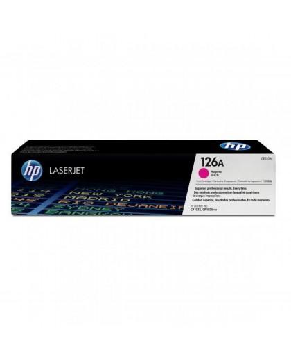 HP originál toner CE313A, magenta, 1000str., HP 126A, HP LaserJet Pro CP1025, 1025nw, MFP M175
