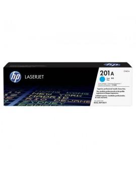 HP originál toner CF401A, cyan, 1400str., HP 201A, HP Color LaserJet MFP 277, Pro M252,Pro MFP M274n, 750g