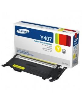 Samsung originál toner CLT-Y4072S, yellow, 1000str., Samsung CLP-320, 325, CLX-3185