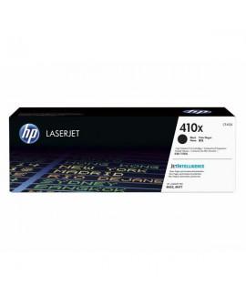 HP originál toner CF410X, black, 6500str., HP 410X, high capacity, HP LJ Pro M452, LJ Pro MFP M477, 680g
