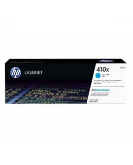 HP originál toner CF411X, cyan, 5000str., HP 410X, high capacity, HP LJ Pro M452, LJ Pro MFP M477, 650g