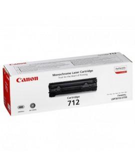 Canon originál toner CRG712, black, 1500str., 1870B002, Canon LBP-3100