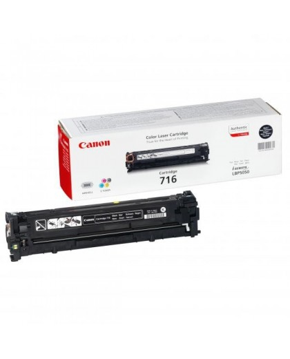 Canon originál toner CRG716, black, 2300str., 1980B002, Canon LBP-5050, 5050n, MF-8050