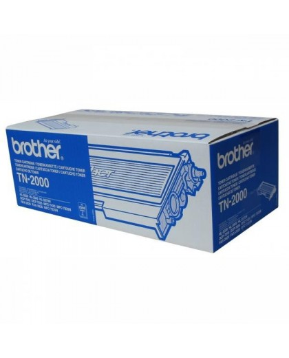 Brother originál toner TN2000, black, 2500str., Brother HL-20x0, MF-7420
