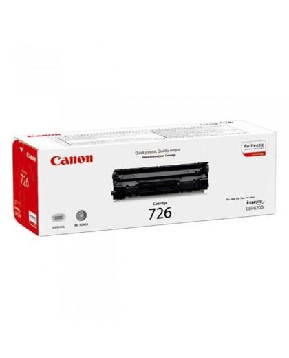 Canon originál toner CRG726, black, 2100str., 3483B002, Canon i-SENSYS LBP-6200d