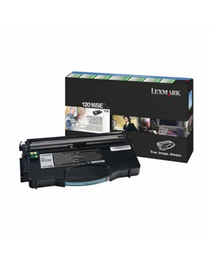 Lexmark originál toner 12016SE, black, 2000str., return, Lexmark E120
