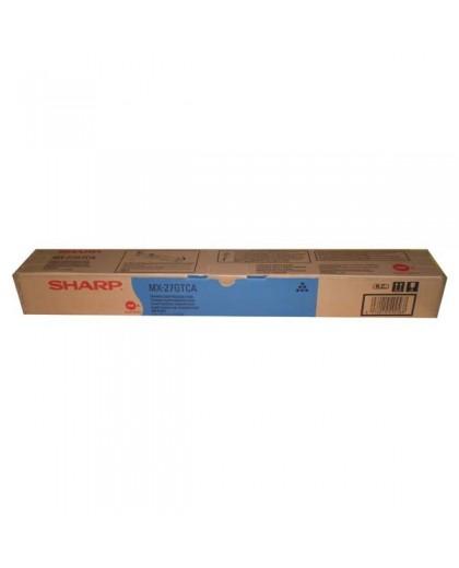 Sharp originál toner MX-23GTCA, cyan, 10000str., Sharp MX-2010U, MX-2310U, MX-2314N, MX-3111U, MX-2614N