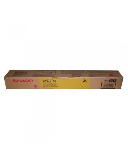 Sharp originál toner MX-23GTYA, yellow, 10000str., Sharp MX-2010U, MX-2310U
