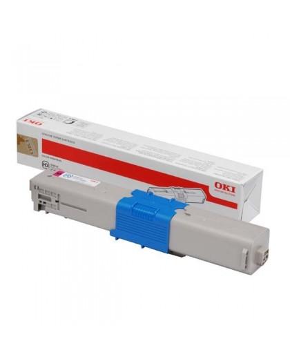 OKI originál toner 44469705, magenta, 2000str., OKI C310, C330, C510, 530