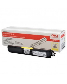 OKI originál toner 44250721, yellow, 2500str., OKI C110, 130n, MC160