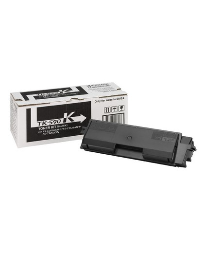 Kyocera originál toner TK590K, black, 7000str., 1T02KV0NL0, Kyocera FS-C 2026/2126MFP
