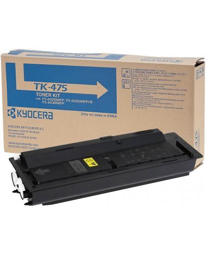 Kyocera originál toner TK475, black, 15000str., 1T02K30NL0, Kyocera FS-6025/6025MFP/6030MFP