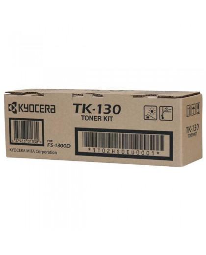 Kyocera originál toner TK130, black, 7200str., 1T02HS0EU0, Kyocera FS-1300D, 1300N, 1350DN, 1028MFP, 1128MFP