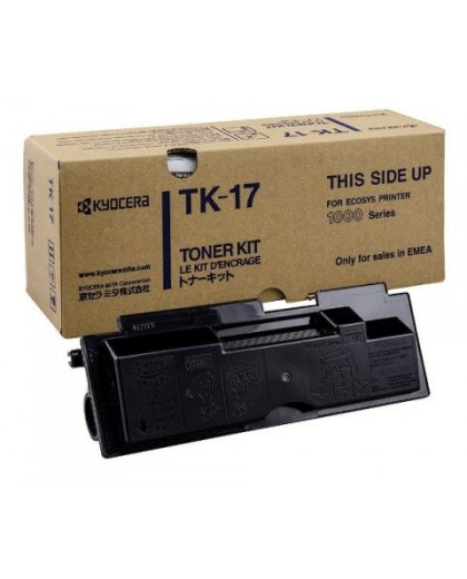 Kyocera originál toner TK17, black, 6000str., 37027017, Kyocera FS-1000, 1000+, 1010, 1050