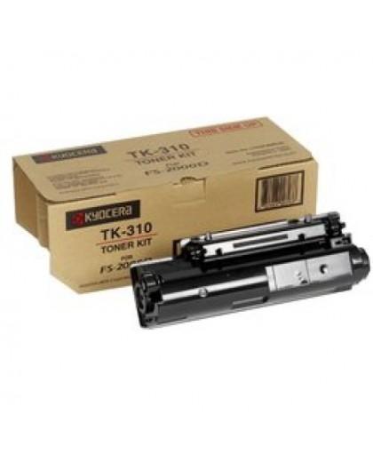 Kyocera originál toner TK310, black, 12000str., 1T02F80EU0, Kyocera FS-2000D, DN, 3900DN, 4000DN