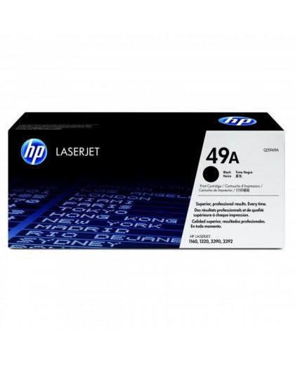 HP originál toner Q5949A, black, 2500str., HP 49A, HP LaserJet 1160, 1320, 3390, 3392