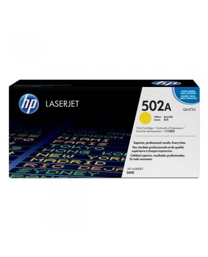 HP originálna tonerová náplň Q6472A, yellow, 4000str., HP 502A