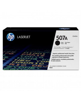 HP originál toner CE400A, black, 5500str., HP 507A, HP LaserJet Enterprise 500 color M551