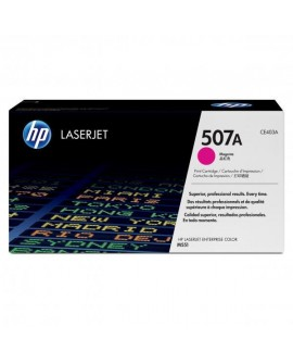 HP originál toner CE403A, magenta, 6000str., HP 507A, HP LaserJet Enterprise 500 color M551