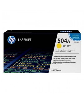 HP originál toner CE252A, yellow, 7000str., HP 504A, HP Color LaserJet CP3525