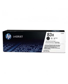 HP originál toner CF283X, black, 2200str., HP 83X, HP LaserJet Pro M201, M225, MFP M225dn, 830g