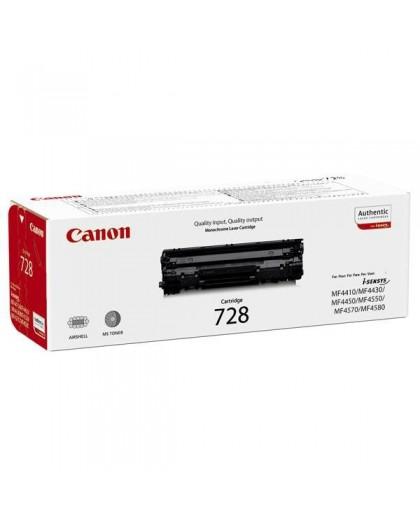 Canon originál toner CRG728, black, 2100str., 3500B002, Canon MF-4410, 4430, 4450, 4550, 4570, 4580, 4890