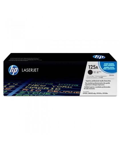 HP originál toner CB540A, black, 2200str., HP 125A, HP Color LaserJet CP1215, 1515, 1518