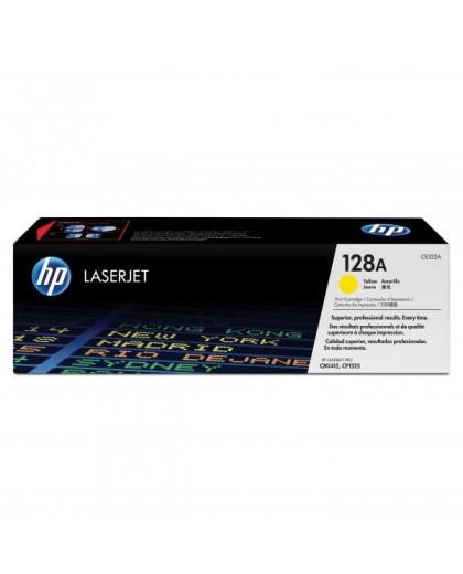 HP originál toner CE322A, yellow, 1300str., HP 128A, HP LaserJet Pro CP1525n, 1525nw, CM1415fn, 1415fnw