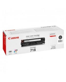 Canon originál toner CRG718, black, 3400str., 2662B002, Canon LBP-7200Cdn