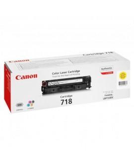 Canon originál toner CRG718, yellow, 2900str., 2659B002, Canon LBP-7200Cdn