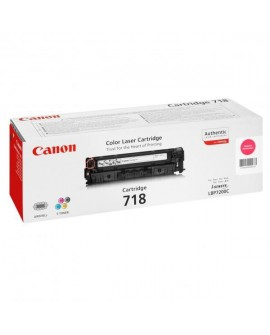 Canon originál toner CRG718, magenta, 2900str., 2660B002, 2660B011, Canon LBP-7200Cdn